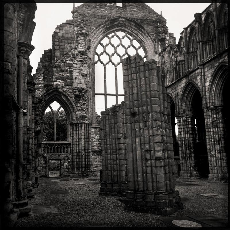 Holyrood Ruin Edinburgh Scotland