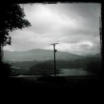 Rain on Ulva Scotland