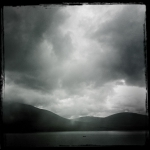 Rain in Mull Scotland
