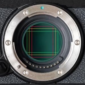 Runder Sensor mit verschiedenen Bildformaten. Oskar Barnacks digitales Erbe - die Versäumnisse der Kameraentwicklung.